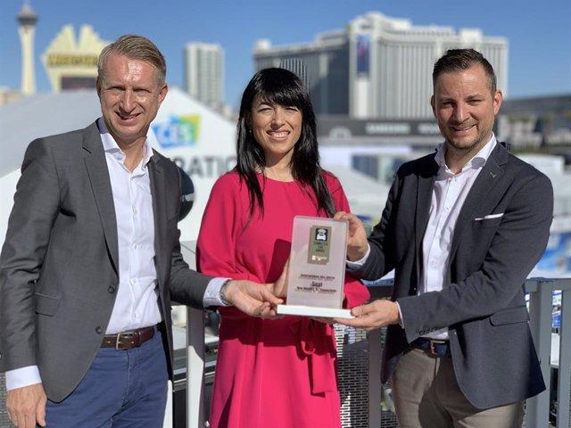 Economía/Motor.- Seat recibe el premio Empresa del año en el Consumer Electronic
