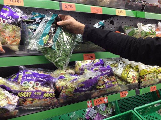 Precios, IPC, inflación, consumo, ensalada, ensaladas, compra, compras, comprar, comprando, supermercado, mercado
