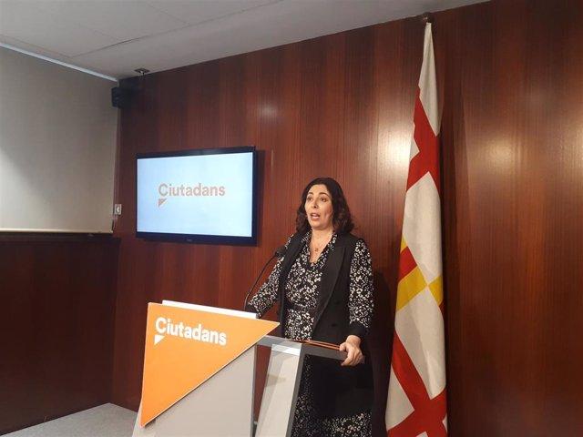 La líder de Cs en el Ayuntamiento de Barcelona, Luz Guilarte