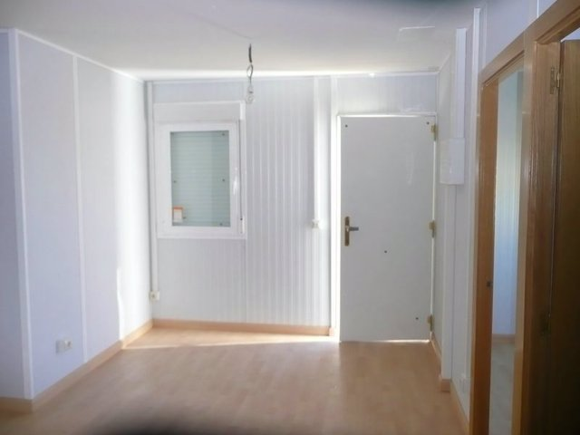 Imagen de una de las viviendas prefrabricadas que serán instaladas en Madrid para atender a refugiados y solicitantes de asilo.