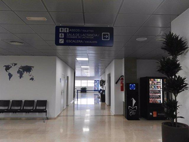 Estación marítima de Málaga interior