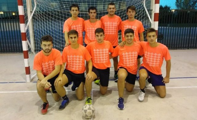 Campeones de fútbol sala.