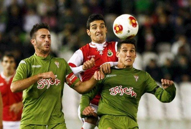 Alex Menéndez, en su etapa en el Sporting de Gijón