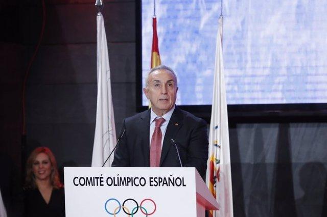 El presidente del COE, Alejandro Blanco