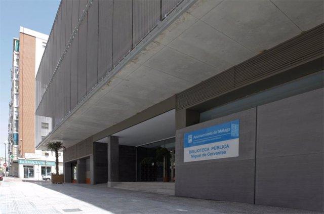 Biblioteca municipal Las Chapas Miguel de Cervantes