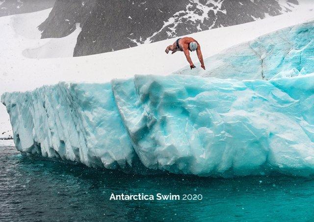 El nadador Lewis Pugh nadará en aguas de la Antártida a 0ºC el próximo 22 de enero para reclamar la creación de una red de áreas marinas protegidas.