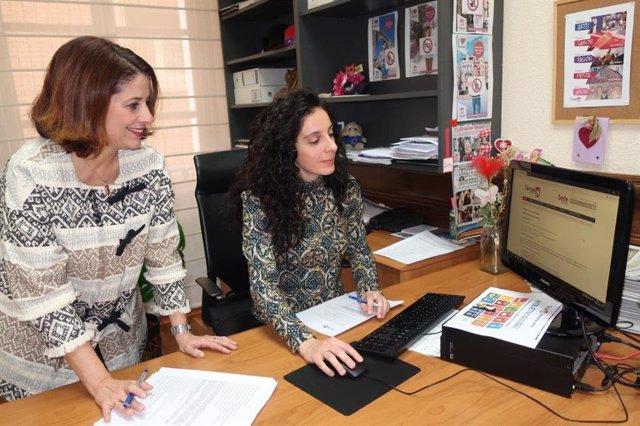 La alcaldesa de Teruel, Emma Buj, informa sobre los 57 trámites administrativos en sede electrónica que realiza el Ayuntamiento