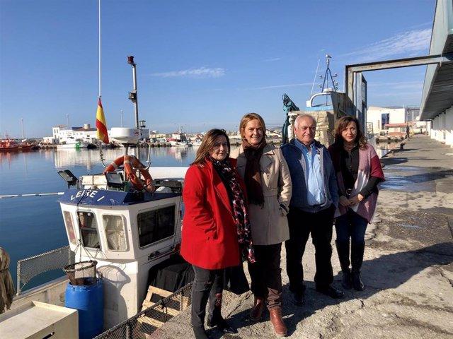 Imagen de la presentación de la propuesta de apoyo al sector pesquero por parte del Ayuntamiento de Motril
