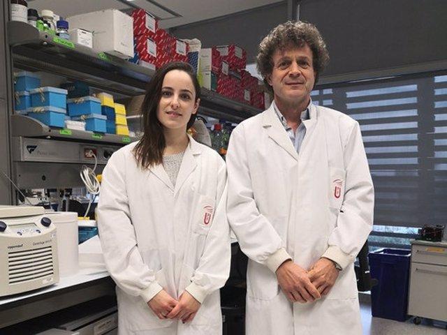 Alejandra Escudero-Lara y Rafael Maldonado. /