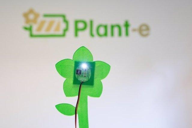 Símbolo de la empresa Plant-e