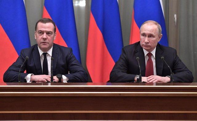 Rusia.- Putin propone al jefe de la agencia tributaria rusa como primer ministro