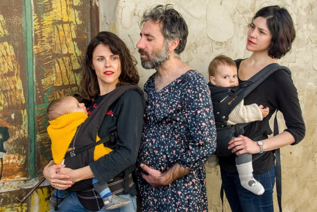 El colectivo La Rara que estrena este viernes 17 en el Teatro Central la obra 'Si yo fuera madre'.