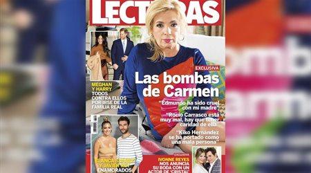 "Carmen Borrego a Edmundo: ""No se lo voy a perdonar nunca"""