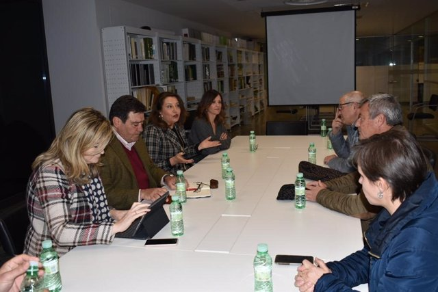 Reunión por el IGP 'Aceites de Jaén'