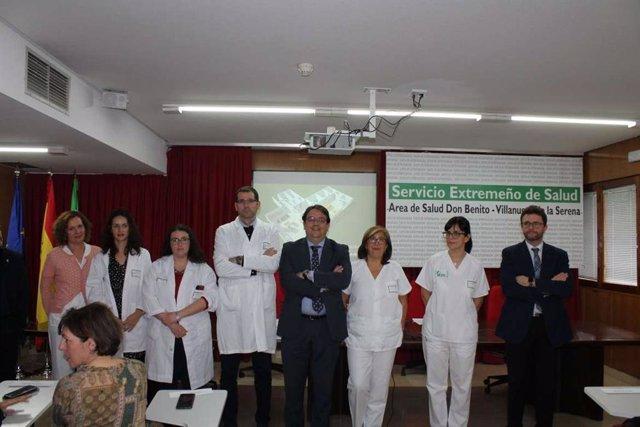 Servicio de Oncología en el Hospital Don benito-Villanueva
