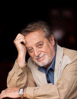 El actor Manuel Galiana, uno de los integrantes del elenco de artistas que protagoniza en el Zorrilla 'Un rumor de sangre'.