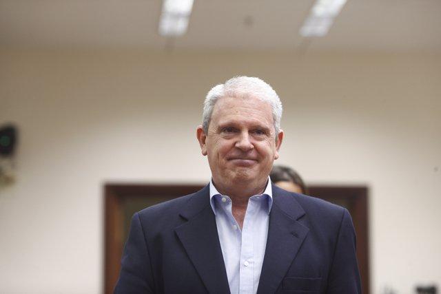 El empresario y expolítico del Partido Popular, Pablo Crespo comparece en el Congreso de los Diputados en Comisión de Investigación por la  presunta financiación ilegal del PP.