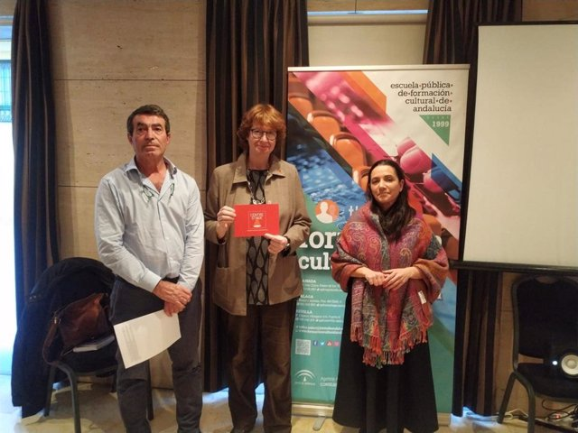 Participantes en un simposium del el proyecto europeo Centre Stage en Málaga