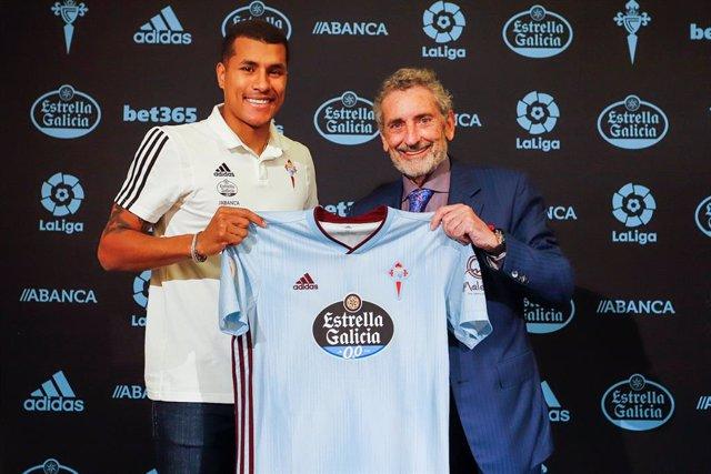 Jeison Murillo, presentado como nuevo jugador del RC Celta.
