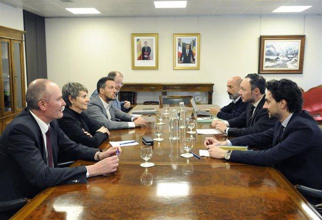 Reunión del jefe de Gobierno andorrano con los representantes socialdemócratas
