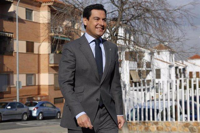 El presidente de la Junta, Juanma Moreno, en una imagen de archivo.