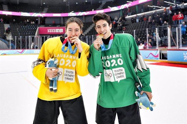 JJ.OO.- El hockey hielo suma dos oros para España en los Juegos Olímpicos de la