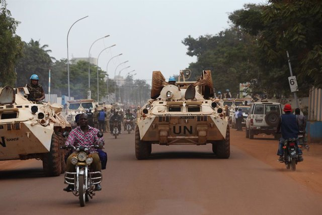 R.Centroafricana.- Cerca de 400 personas se refugian en una base de la ONU tras