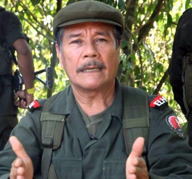 Nicolás Rodríguez Bautista, 'Gabino', máximo comandante del ELN.