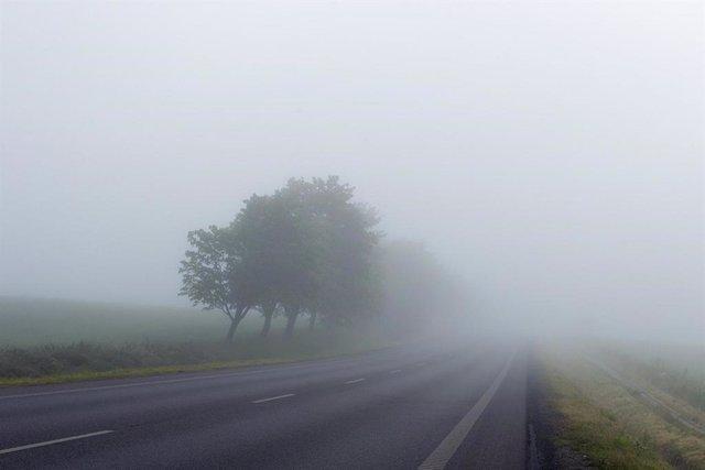 Niebla en las carreteras de Lleida
