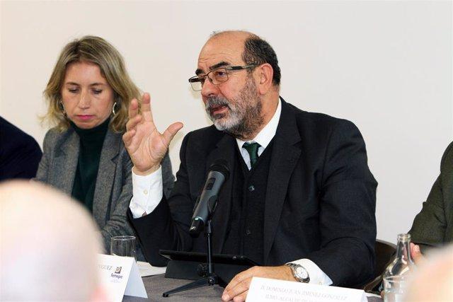 El presidente de Femepa, Vicente Marrero, presenta la Asamblea de la Federación en Fuerteventura