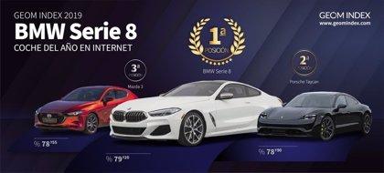 El BMW Serie 8 cerró 2019 como el coche más valorado del año en Internet, según GEOM Index