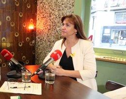 Entrevista a la portavoz de JxCat en el Congreso, Laura Borràs