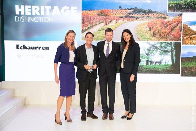 Echaurren recibe el Trofeo Heritage.