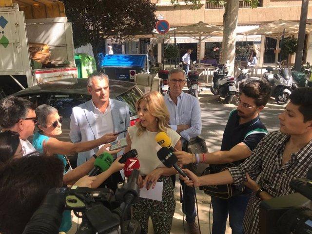 La concejal de Medio Ambiente de Granada, Pepa Rubia