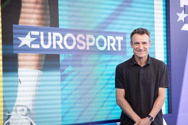 El extenista sueco y ahora comentarista de Eurosport Mats Wilander