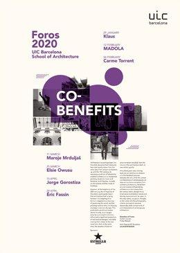 COMUNICADO: El ciclo Foros 2020 reflexiona sobre las intersecciones entre la arq