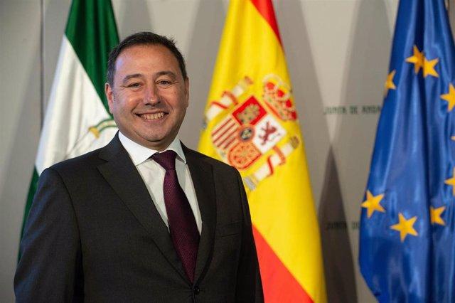 El delegado del gobierno de la Junta en Sevilla, Ricardo Sánchez