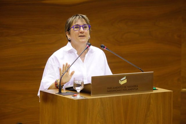 Marisa de Simón, cabeza de lista de I-E al Parlamento de Navarra