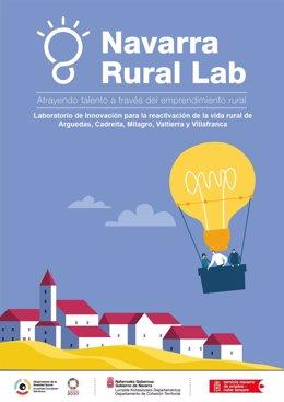 Cartel del programa 'Navarra Rural Lab'
