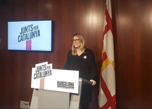 La concejal de JxCat, Elsa Artadi