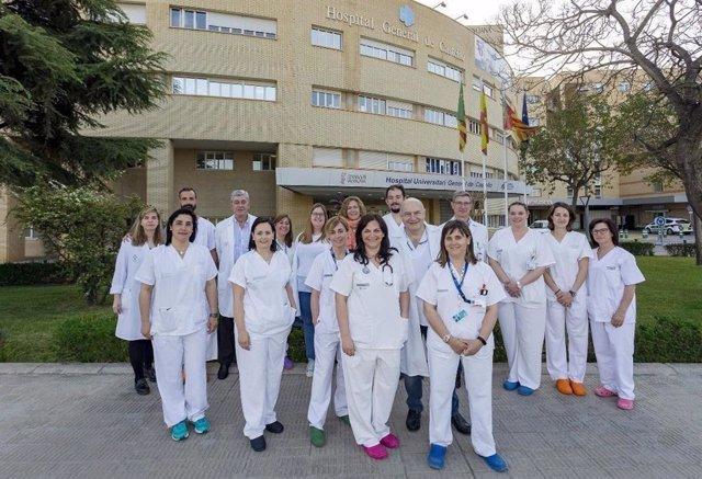 """El General de Castelló, Fisabio y la UJI desarrollan un """"software"""" que predice el resultado de la cirugía por cáncer de ovario avanzado"""