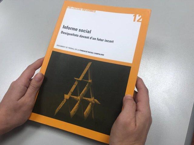 Informe social 'Desigualtats davant d'un futur incert' de la Fundació Rafael Campalans