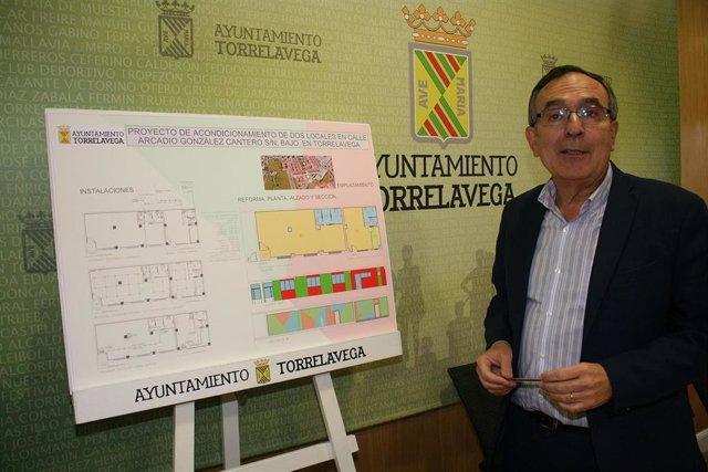 José Manuel Cruz Viadeo, concejal de Obras Públicas de Torrelavega