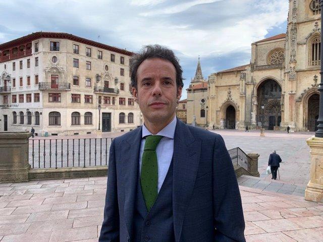 El nuevo portavoz de Ciudadanos en Asturias, Ignacio Cuesta.