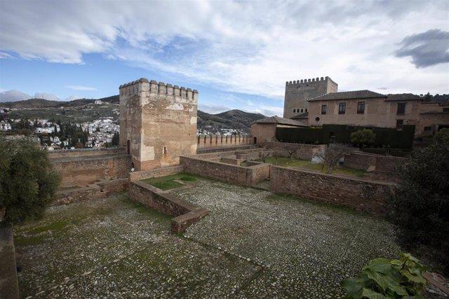 Imagen de la zona de la Alhambra donde se pretende instalar el colector