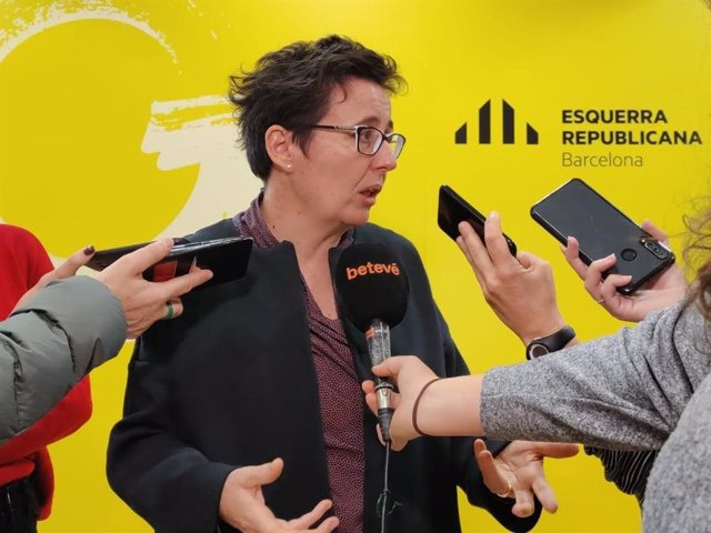 La concejal de ERC en el Ayuntamiento de Barcelona Maria Buhiguas