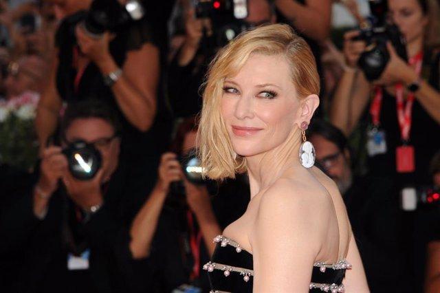 31 August 2019, Italy, Venice: American-Australian actress Cate Blanchett attends the premiere of the film 'Joker' during the 76th Venice International Film Festival. Photo: Piergiorgio Pirrone/Lapresse via ZUMA Press/dpa