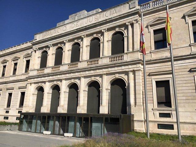 Sede del TSJCyL en Burgos.
