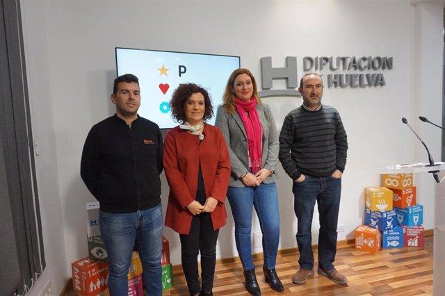 Rueda de prensa sobre la participación de empresas onubenses del mueble en la séptima Feria del Mueble de Zaragoza
