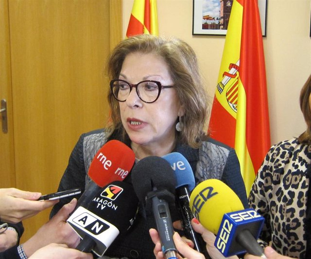 La consejera de Sanidad del Gobierno de Aragón, Pilar Ventura.